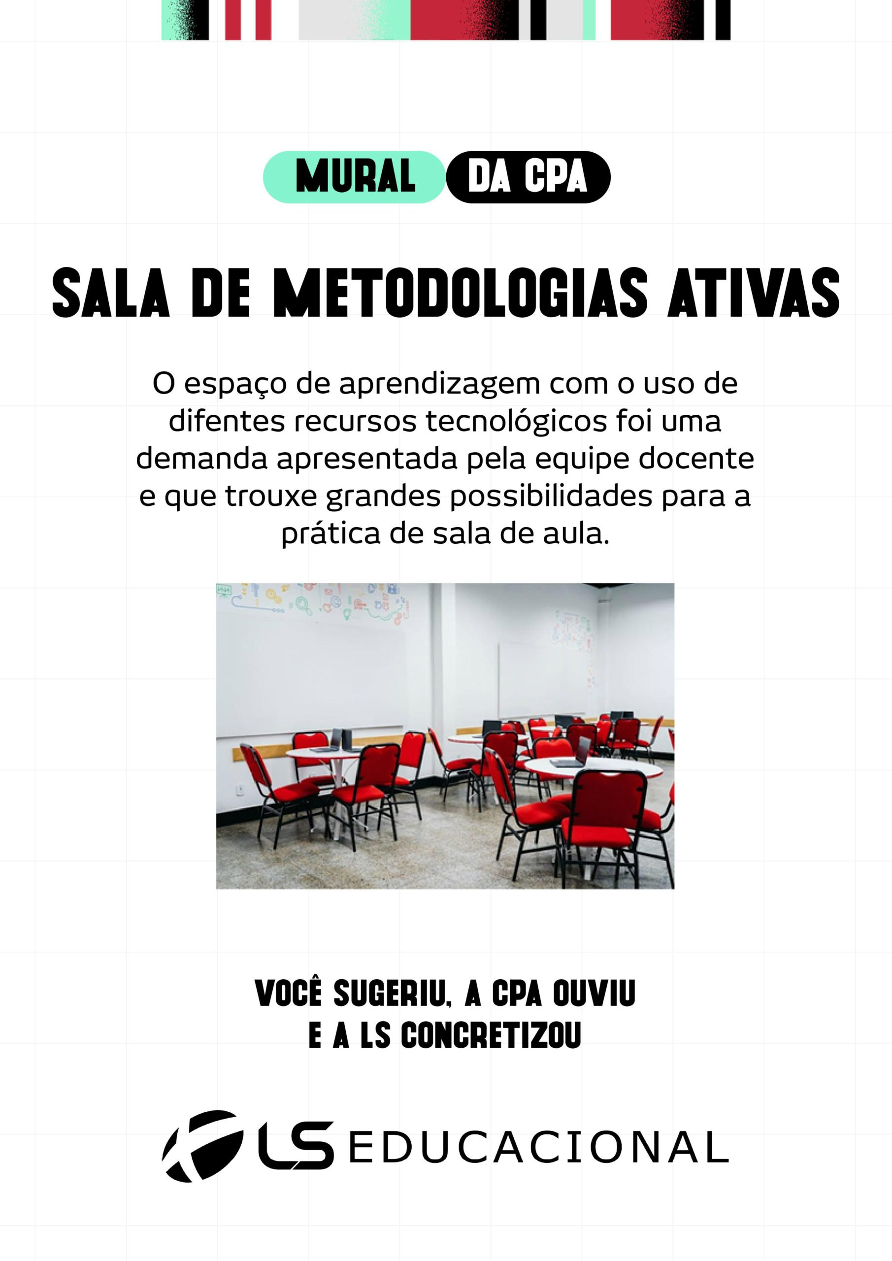 SALA DE METODOLOGIAS ATIVAS